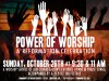 power of worship flyer