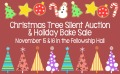 Xmas Tree Auction n Bake Sale WEB